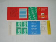 1997 Gr3 Booklet 4 x Worldwide Airmail 4 x 63p & 4 x Airmail Labels