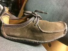 clarks leather wallabees shoes
