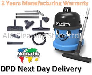 Numatic Charles Wet Dry Vacuum Cleaner Hoover CV370 240V Motor 2021 New Model