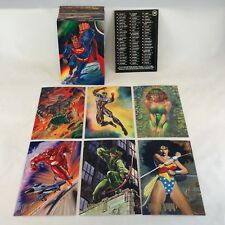 """DC COMICS Premium """"MASTER SERIES"""" Complete Trading Card set from SKYBOX/1994"""