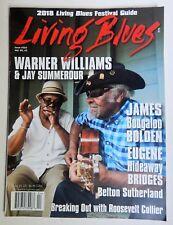 Living Blues Magazine April 2018 James Bolden BB King Warner Williams Festivals