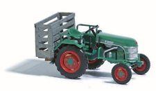 Busch 40068 - 1/87 / H0 Traktor Kramer Kl 11 Mit Schweinekiste - Neu