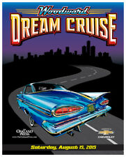 2015 Woodward Dream Cruise Poster