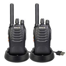 Retevis H777Plus Walkie Talkies PMR446 CTCSS/DCS 16Kanäle 1000mAh Funkgeräte(2X)