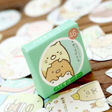 1 box 46 PCS corner biologic Diy diary Planner Scrapbook sealing label stickers