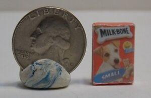 Dollhouse Miniature Small Dog Treat Bones Box 1:12 scale H124 Dollys Gallery
