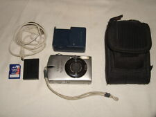 CANON POWER SHOT SD500 7.1 DIGITAL CAMERA,CHARGER,DOWNLOAD CABLE,512 CHIP & CASE