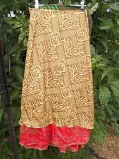 Wrap, Sarong 100% Silk Skirts for Women