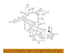 KIA OEM 07-08 Rondo Rear Suspension-Knuckle Bolt 517112G000