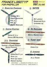 KORA Decals 1/72 FRENCH WWII PROPELLER LOGOS