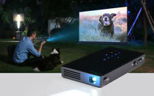 4K 3D Full HD Wireless DLP Mini LED Projector Android WiFi 1080P Home Theater