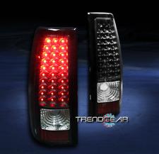 2003-2006 CHEVY SILVERADO/2004+ GMC SIERRA LED TAIL BRAKE LIGHTS REAR LAMP BLACK