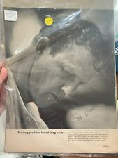 Stan Musial signed magazine article
