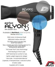 Parlux Alyon Pro blowdryer European plug brand new in box never been used.