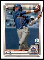 2020 Bowman Draft 1st Edition Base #BD-92 Matthew Dyer - New York Mets