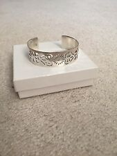 Silver St.Michael Church Charleston Gate Jewelry Cuff Bracelet