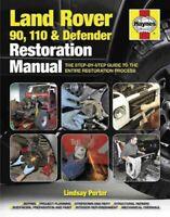 Haynes Land Rover 90, 110 & Defender Restoration Manual : The Step-by-Step Gu...