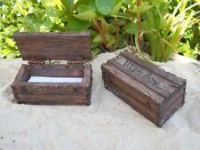 Miniature Garden Fairy Wish Box + Paper - New, Terrarium, Dollhouse