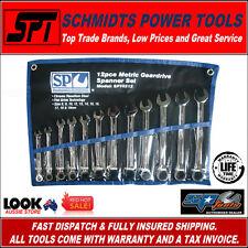 SP Tools Spanner Set Geardrive Flat Roe Metric 12pc - Sp10212