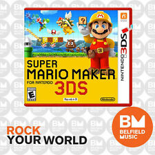 Super Mario Maker Nintendo 3ds Game Express Post GC