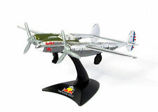 Burago The Flying Bulls P-38 LIGHTNING Aereo Airplane Die Cast Model 1/120 Nuovo