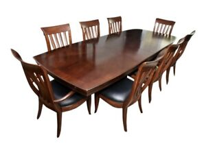 Cherry Dining Table & Chairs Bernhardt Paris Collection