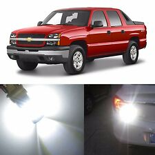 Alla Lighting Back-up Light 3157K  White LED Bulbs for Chevy Avalanche 1500 2500