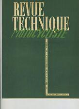 (12A)REVUE TECHNIQUE MOTO RAVAT type R5 / Volants magnétiques / Boîte Burman
