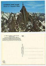 24214-CHAMONIX MONT-BLANC-Sommet de l'Aiguille du Midi-vieille carte postale