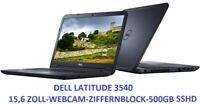 Dell Latitude 3540 iNTEL 4030M 1,9GHz 500GB-SSHD WEBCAM USB3.0 SEHR FLACH 15,6HD