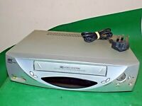 JEG VCR2380GB  SEG VCR VHS VIDEO CASSETTE RECORDER Silver Slim Fully Working