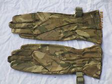 Gants combat chaud temps, Multicam cuir gants , daté 2012, gr. 9