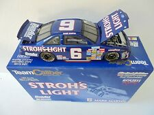 Mark Martin #6 Strohs Light 1989 Ford Thunderbird TC Nascar Diecast Collectible