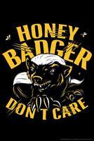 WS00006490 Template A5 /'Badger Head/' Wall Stencil