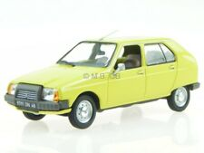 Citroen Visa Club 1979 mimosen gelb Modellauto 150940 Norev 1:43