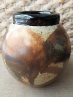 Handmade Handpainted Pottery Jar/ Vase By Margie 71-5