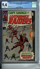 CAPTAIN SAVAGE AND HIS LEATHERNECK RAIDERS #5 CGC 9.4 WP MARVEL COMICS 1968