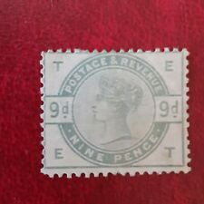 Gb Qv Sg195 Nine Pence Stamp Mint Not Perfect Pls see Pictures