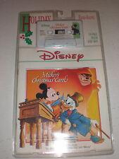 Mickey's Christmas Carol CASSETTE/BOOK NEW