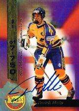 FREDRIK MODIN SIGNED 1994 SIGNATURE ROOKIES CARD AUTO ~AUTHENTIC