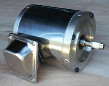 On Sale!!! Gator Stainless Steel AC Motor, 3/4 HP, 1800RPM, 56C, TENV, 3 Phase