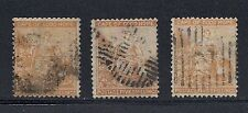 Cape of Good Hope Cogh 1874- Qv Sg 31 (3 different Used)