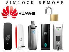 Unlock SIMLOCK Huawei 3G/4G modem - E353Ws-2 E303 Hilink E3276 E398 E5373 E3276
