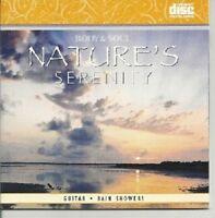 BODY & SOUL NATURE'S SERENITY GUITAR AND RAIN SHOWERS SPA RELAXATION MUSIC CD