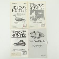 VINTAGE HUNTING The Decoy Hunter 1987 1988 1992 Mailer Ducks Goose Shorebird