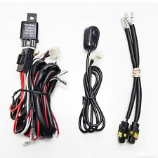 Universal Fog light Wiring Harness with switch and H11 socket only wire harness