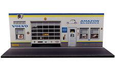 Diorama présentoir Volvo Amazon Bilservice - 1/43ème - #43-2-D-D-006