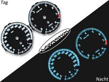 Letronix plasma compteur de vitesse cadrans BMW e90 e91 e92 e93 0-260km/h blanc m3 Look