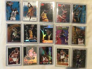 Mixed NBA 15 Card Lot MICHAEL JORDAN SHAQ KOBE AUTO Hologram Rookie LOT✨