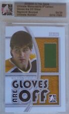 2008-09 ITG Ultimate Memorabilia Gloves Are Off Ray Bourque /24 Boston Bruins